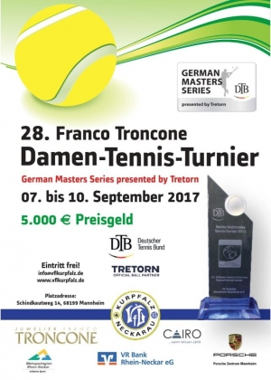 28. Franco Troncone Damen-Tennis-Turnier