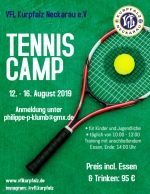 Sommer-Tennis-Ferien-Camp