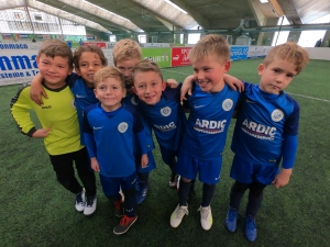 Dritter Platz beim SoccerCup (F-Junioren)