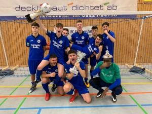 Doppelschlag für die B-Jugend mit erneutem Turniersieg in Dossenheim